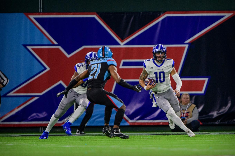XFL: St. Louis BattleHawks at Dallas Renegades